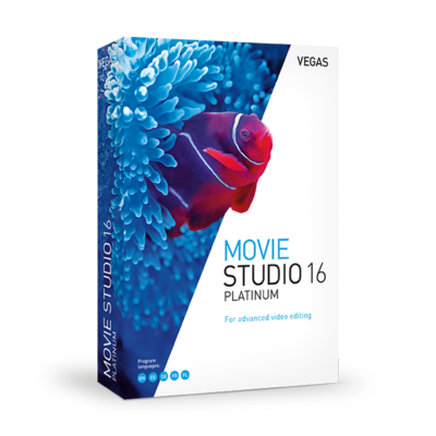 VEGAS Movie Studio 15 Pack
