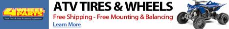 ATV Tires & Wheels | Free Shipping & Free Mounting