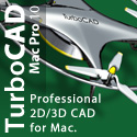 TurboCAD Mac Pro 2D/3D - the next step in CAD for the Mac.