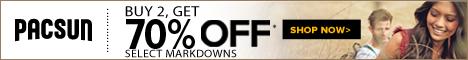 Buy 2, Get 50% Off Markdowns