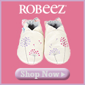 Robeez - Fun leather footwear that stays on little