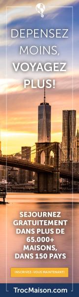 Echange de maison ou d'appartement pour particuliers en vacances à l'étranger aux USA