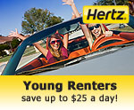 Young Renters save $25 per day!