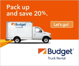 Budget Truck Rentals - 15% OFF Coupon / Promo