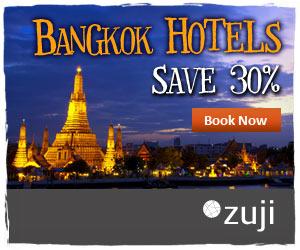 曼谷酒店優惠,優先預訂,可享高達七折!