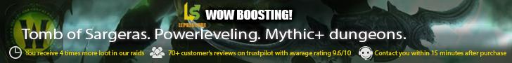 World of Warcraft boosting services | Leprestore