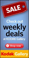 Weekly Deals at Kodak Gallery