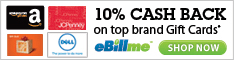 Shop for School and Earn up to 10% Cash Back with eBillme