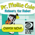 Dr. Mollie Cule Reboots the Robot Science Activity Book