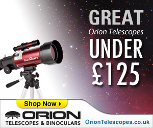 Great Orion Telescopes under £125