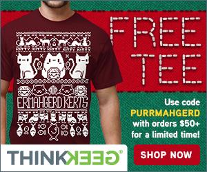 thinkgeek for christmas