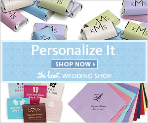 Personalized Favors at The Knot Wedding                      Shop