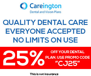 25% of your dental plan! Use promo code