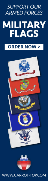 MIlitary Flags made in the USA!
