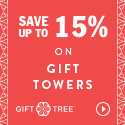 Save Up to 15% on Gift Towers