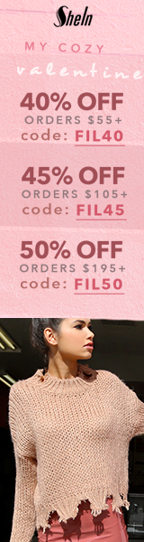 Enjoy 50% off orders $195+ with Coupon Code FIL50 at us.SheIn.com! Ends 1/23 (US Only)