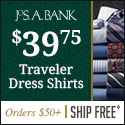 Men's Business Dress Apparel