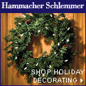 Hamamcher Holiday Decorating