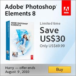 Save $30 on Adobe Photoshop Elements 8 (Windows)
