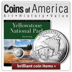 Coins of America National Parks Quarters
