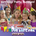Fun Party Ideas - Order Today! 10% off Use Code F4CJT
