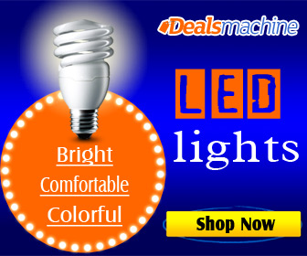 Hot Selling! Super Low-price for the Bright, Comfortable and Colorful LED Lights at Dealsmachine.com