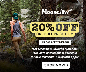 Get 20% off one full price item with code FLIPFLOP