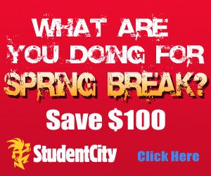 Spring Break 2008 discount coupon