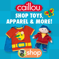 PBS KIDS Caillou Shop