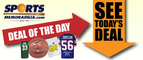 Sports Memorabilia Deal of the Day