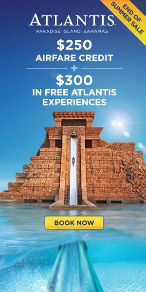 Atlantis End of Summer Sale!