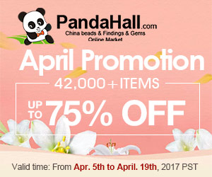 Up to 75% OFF on April Promotion. Ends on Apr. 19th, 2017 PST