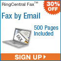 RingCentral Fax - 30% Off First 3 Months any plan