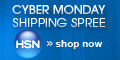 Shop HSN's Cyber Monday Shipping Spree.