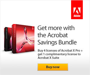 Get more with the Acrobat Savings Bundle