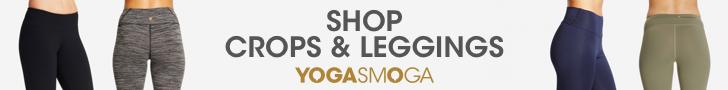 YOGASMOGA Womens Crops