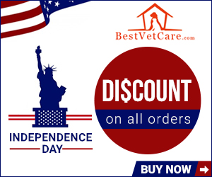 Celebrate Red, White & Free Months Supply + Extra Discount at BestVetCare.com