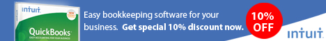 Save 10% on All QuickBooks UK Products
