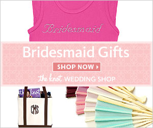 Bridesmaid Gifts at The Knot Wedding Shop