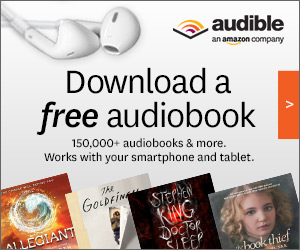 Download a free audiobook from over 150,000 titles