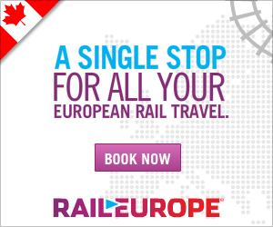 Canadians One Stop Shop for all your European Rail Travel.