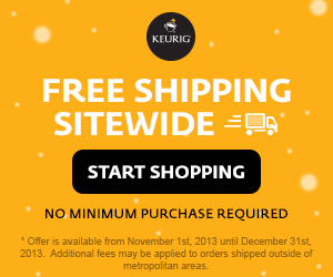 FREE SHIPPING SITEWIDE, no minimum purchase required