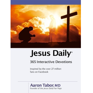 New from Aaron Tabor, Jesus Daily: PreBuy now at FamilyChristian.com
