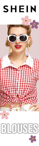 160x600 Fantastic Deals on Blouses!  Visit us.SheIn.com Limited Time Offer!