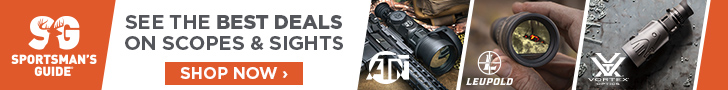 Best deals on Scopes and sights @ sportmans guide