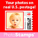 put your child on real stamps