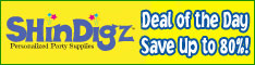 Shindigz Party Supplies Deal of the Day