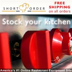 Free shipping on restaurant equipment
