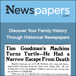 Discover your family history through historical newspapers at Newspapers.com