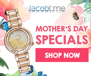 Jacob Time Mother's Day Coupon Specials